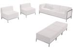 tufted lounge seating set - flash furniture imperial series