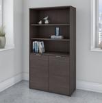 jamestown bookcase storm gray