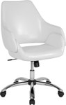 madrid white office chair