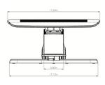 esi hana adjustable foot support dimensions 1
