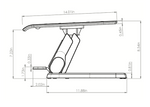 esi hana adjustable foot support dimensions 2