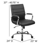 conference chair measurements