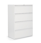 4 drawer metal lateral file cabinet
