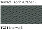 terrace ironwork upholstery