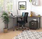 artisan grey superior laminate l-desk