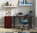 dark cherry otg superior laminate writing desk