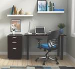 espresso otg superior laminate writing desk