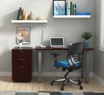 otg small writing desk in mahogany
