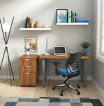 otg small writing desk in walnut