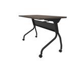 artisan grey flip top nesting table
