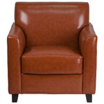 diplomat leather chair