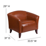 imperial chair dimensions