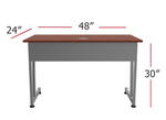 computer table dimensions