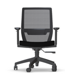 vektor mesh chair with black seat