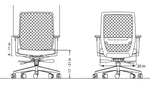 friant vektor chair line drawing