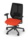friant ignite chair in orange