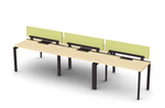 Friant Verity 5 Person Collaborative Benching Layout FV-5000