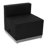 Flash Furniture Alon Series Black Leather Lounge Chair