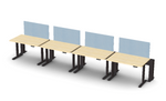 Friant My-Height Adjustable 4 Person Workstation FMH-4000