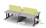 Friant My-Hite 4 Person Adjustable Workstation FMH-4001