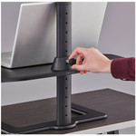 height adjustable laptop stand functionality
