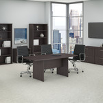 Bush Business Furniture 72x36 Boat Top Conference Table