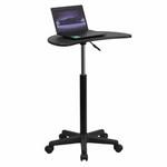 Flash Furniture Adjustable Mobile Computer Stand