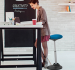 x-yoyo active stool in workplace setting