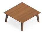 """Global Corby 30"""" x 30"""" Wood Veneer Coffee Table CBYCT3030H13"""