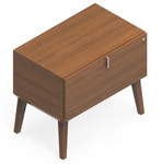 Global Corby Mid Century Lateral File Cabinet CBYP1HB