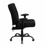 FL-WL-735SYG-BK-A-GG-Flash Furniture Big & Tall Fabric Computer Chair (400 lb. Capacity)