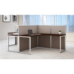 Bush Easy Office Two Person L Shaped Collaborative Workstation