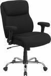 Flash Furniture Big and Tall Black Fabric Task Chair (400 lb. Capacity)