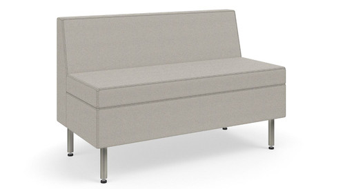 Swell Ki Tattoo Slim Seating Sofa Bench With Casters Alphanode Cool Chair Designs And Ideas Alphanodeonline