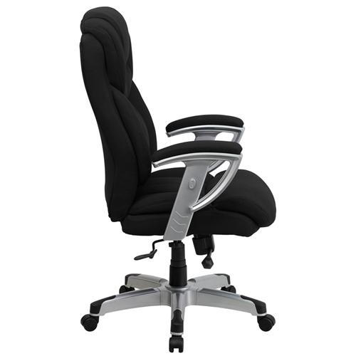 Flash Furniture Black Fabric Big and Tall Executive Chair (400 lb. Capacity)