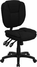 Flash Furniture Black Fabric Ergonomic Office Chair