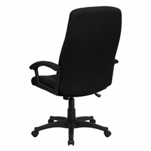 Flash Furniture Black Fabric Executive Swivel Chair
