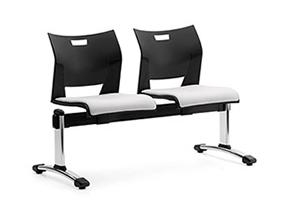 Global Duet Series 2 Person Beam Chair Configuration