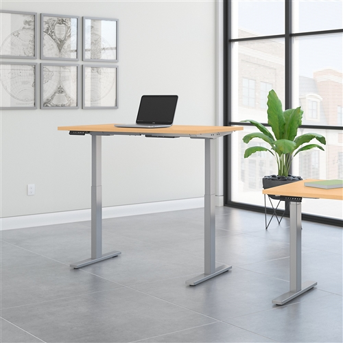move 60 adjustable table in workspace