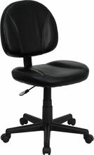 Flash Furniture Black Leather Ergonomic Task Chair
