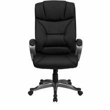 Flash Furniture Black Leather Executive Office Chair