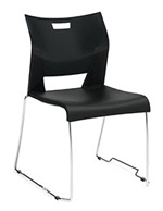 Global Duet Stacking Chair 6621G (4 Pack)
