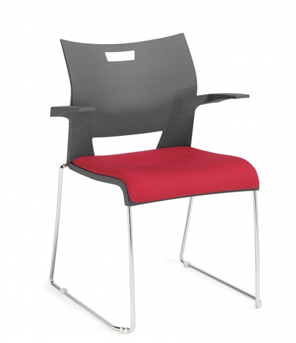 Global Duet Stacking Chair 6622 (4 Pack)