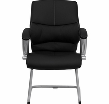 Flash Furniture Black Leather Executive Side Chair