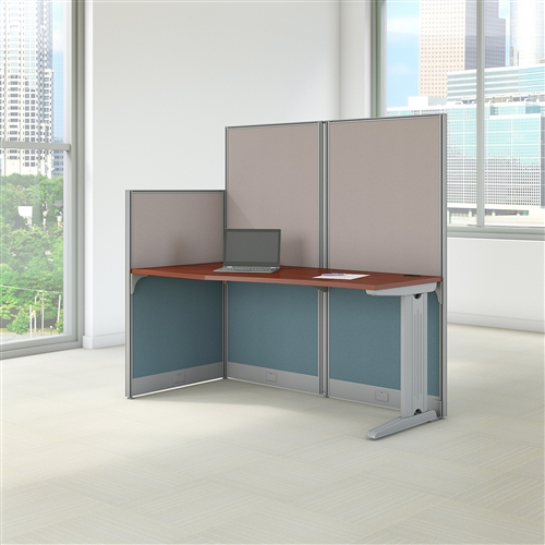 Bush Office In An Hour Hansen Cherry Single User Workstation WC36492-03K