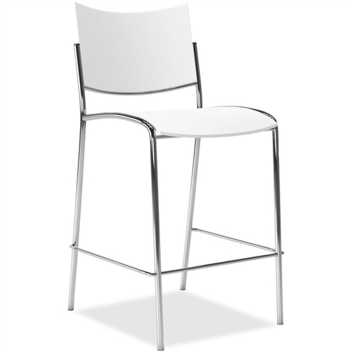 2 Pack of Mayline Escalate Series Plastic Bar Stools ESS2 (2 Colors!)