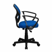 Flash Furniture Blue Computer Chair with Arms