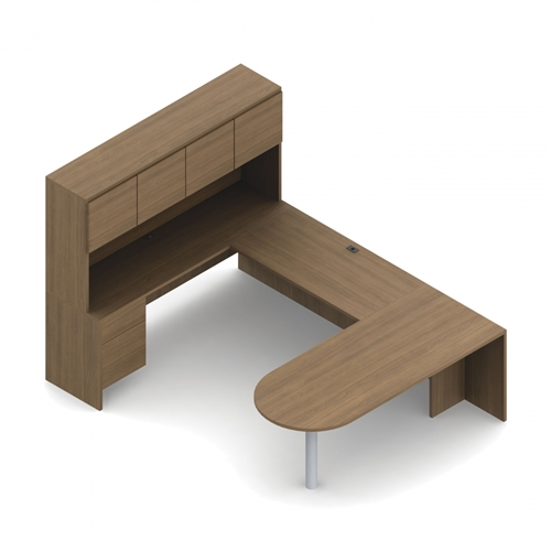 Global Genoa U Shaped Peninsula Desk GEN503R