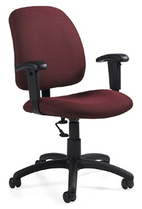 Global Goal Low Back Chair 2237-6