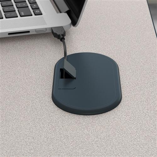 "Bush Series A 36"" Office Desk with Mobile File Cabinet SRA024"